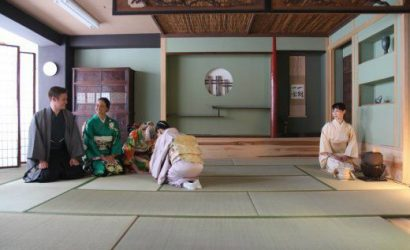 Japanese Cultural Experiences : Tea ceremony, Origami, Furoshiki Wrapping and Tokyo Tower