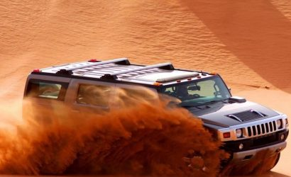 Dubai Desert Safari with H2 Hummer, BBQ Dinner