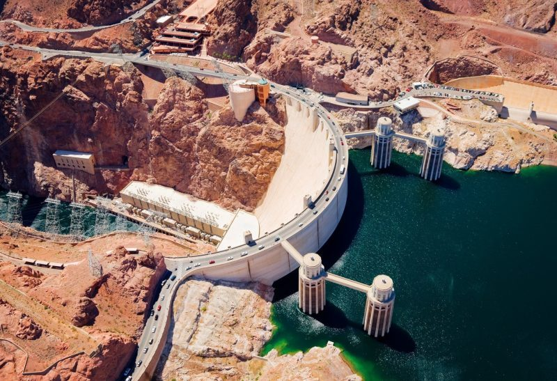 Hoover Dam Bus Tour with Helicopter