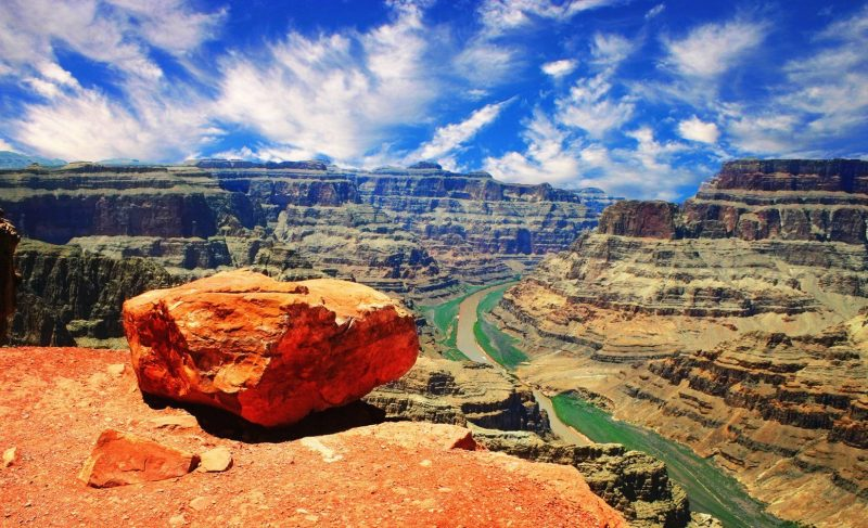 Grand Canyon West Rim Bus Tour with Skywalk from Las Vegas