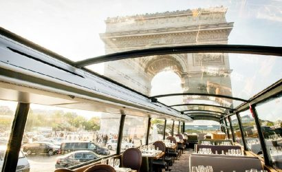Bustronome Paris Lunch Menu: Paris Sightseeing and French Gastronomy