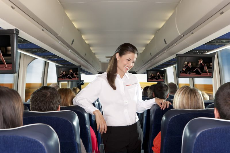 Las Vegas and Anaheim Luxury Shuttle Bus with Wifi