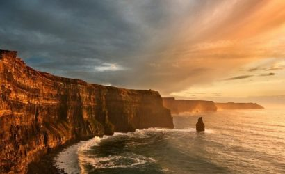 Cliffs of Moher, Atlantic Edge and Galway City Day Tour from Dublin