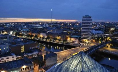 1-Hour Dublin Night Tour by Bus