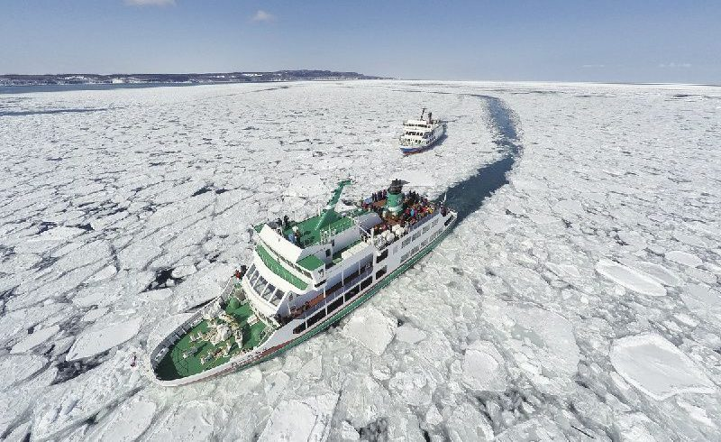 Abashiri Tour: Drift Ice Cruise on Icebreaker Ship Aurora
