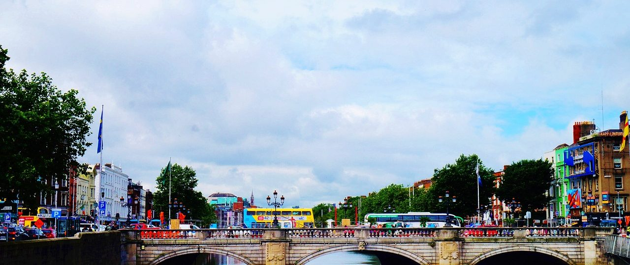 Dublin, Ireland, bridge
