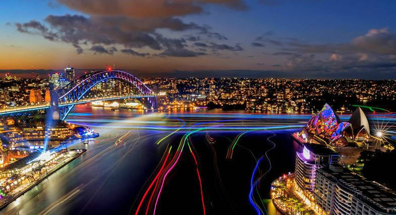 Vivid Sydney Lights Special Event Cruises