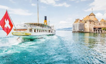Chillon Castle Day Trip from Lausanne with Steamer Cruise