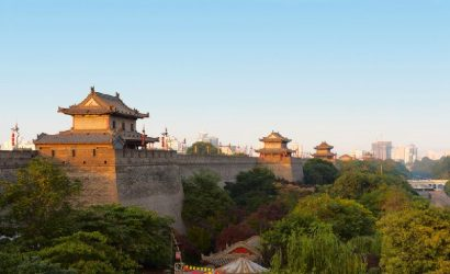 Private Xi'an City Wall Park Tour and Foodie Experience at Yongxingfang
