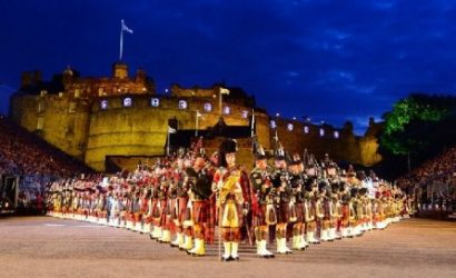 Scottish Highlands Day Trip with Whisky Distillery Tour and Edinburgh Military Tattoo