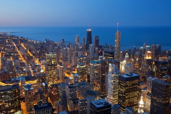 Chicago Evening Helicopter Tour