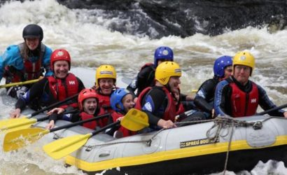 River Tay White Water Rafting From Edinburgh