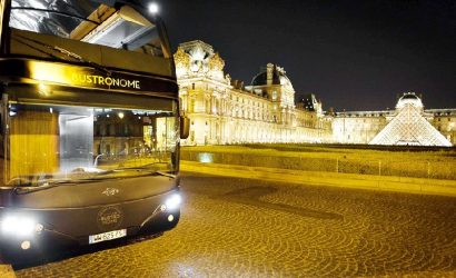 Bustronome Paris Dinner Menu: Paris Sightseeing and French Gastronomy