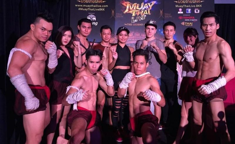 Muay Thai Live Boxing with Join Transfers