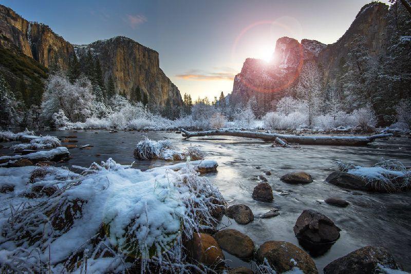 2-Day Yosemite Winter Tour W/ Yosemite Valley Lodge
