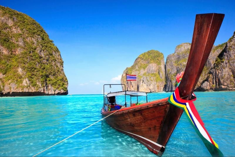 Phi Phi Island from Phuket by Speedboat