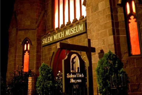 Salem Witch Museum Ticket