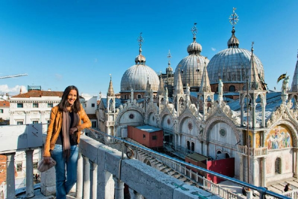 Venice Walking Tour + Grand Canal Water Taxi + St. Mark's Basilica Guided Tour