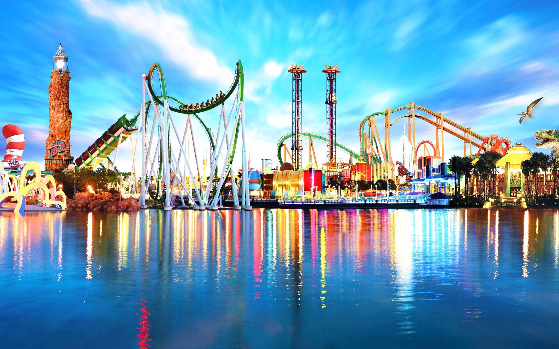 5-Day Orlando Economic Vacation Package: Theme Parks