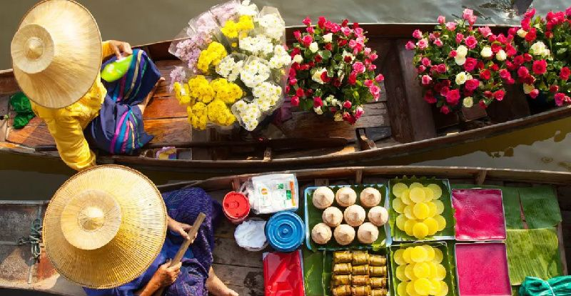 1 Day Damnoen Saduak Floating Market Tour