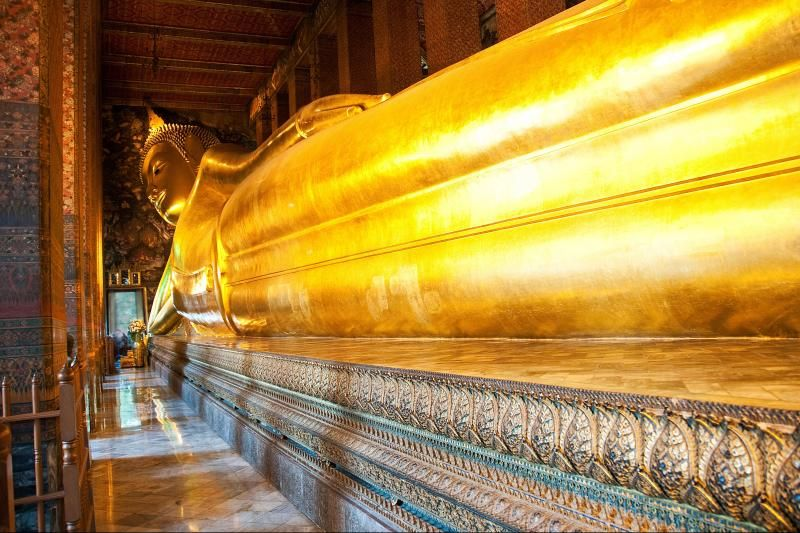 Golden Buddha, Reclining Buddha, Marble Temple and Gems Gallery Tour