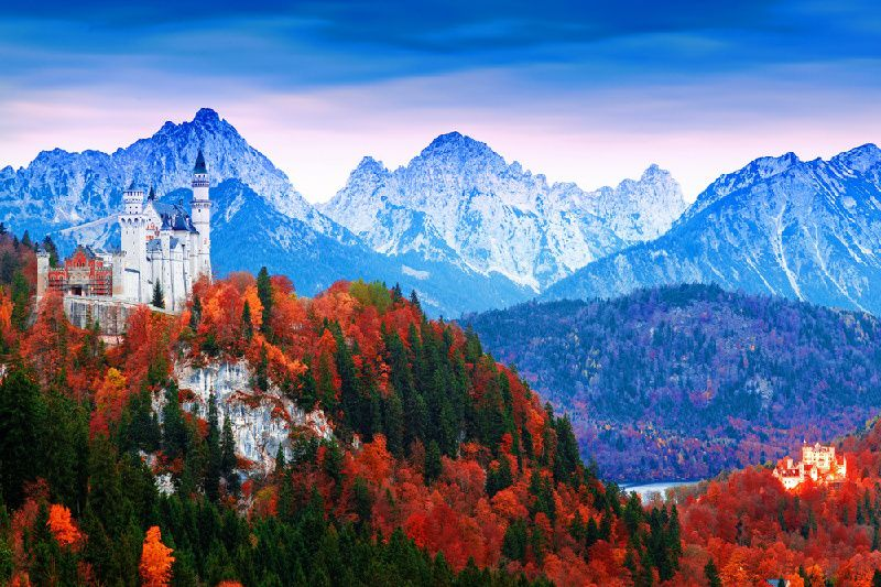 5-Day Romantic Road Germany Self Drive Tour: Frankfurt to Munich