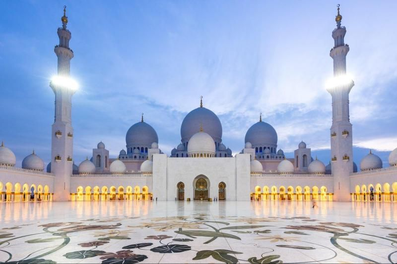 Abu Dhabi Mosque & Ferrari World Tour from Dubai