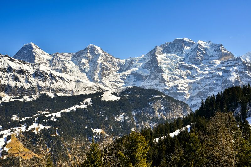 6-Day Swiss Rail Holiday: GoldenPass Line